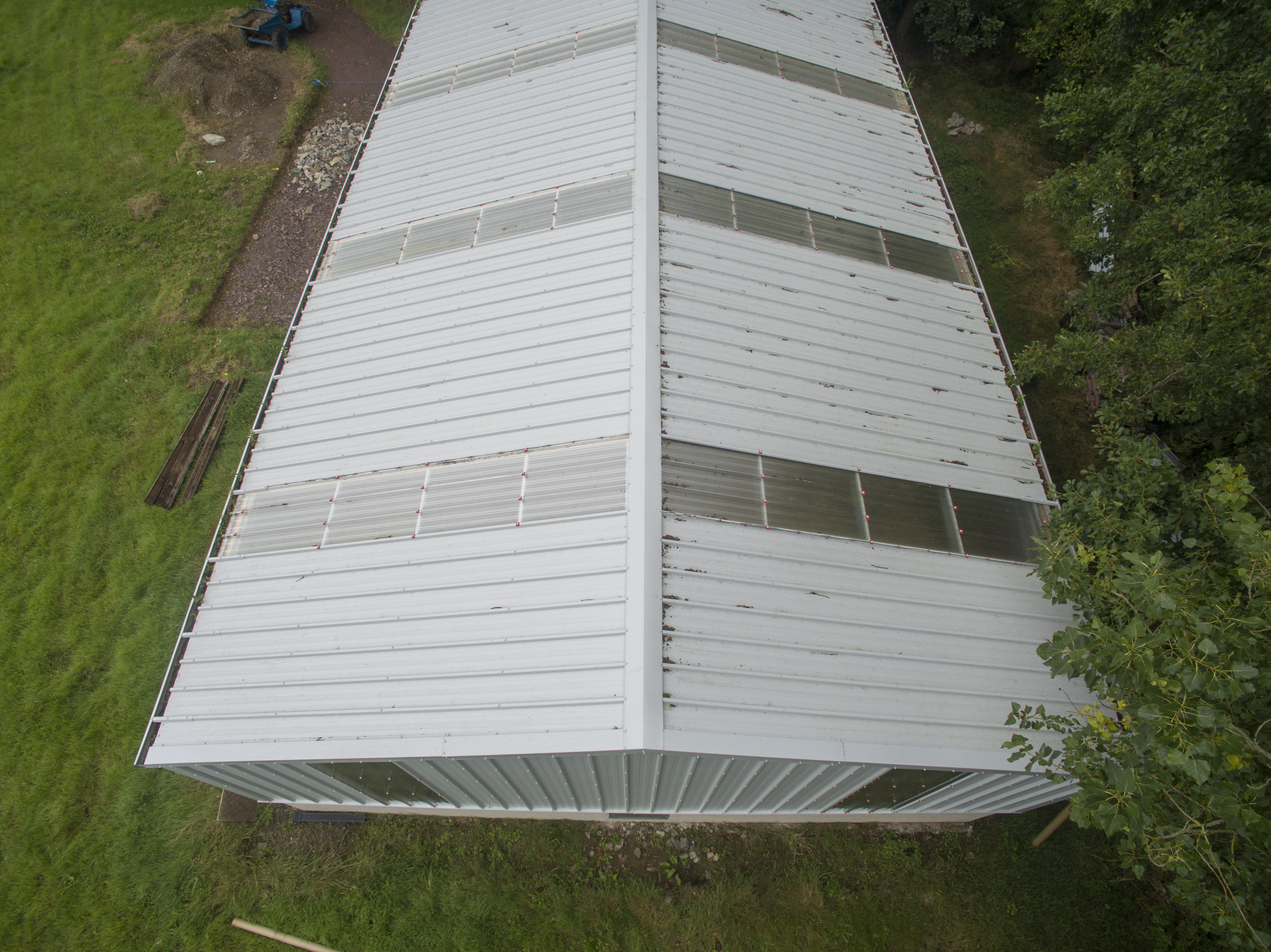 Kingspan Clear Polycarbonate Rooflights Seconds O Connor