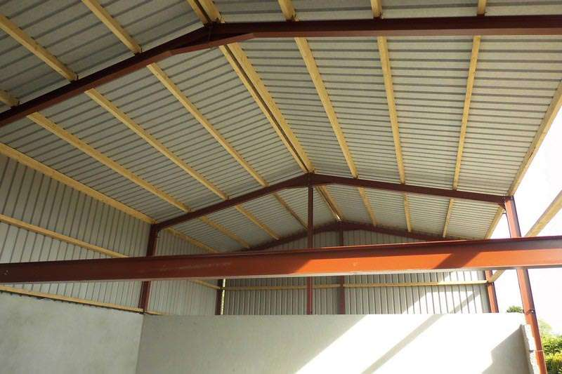 Timber Purlins O Connor Roofing 166 Kingspan Panels