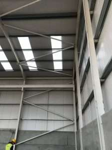 Internal View Kingspan Panels