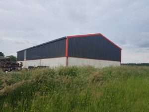 Single Skin Sheeting with non Drip and Ventilated Sheeting