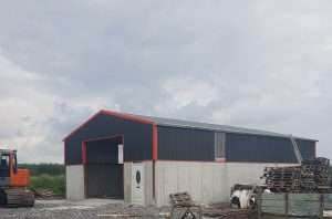 Barge Flashing, Gutters, Clear Rooflights, Single Skin Sheeting, Ventilation Sheets