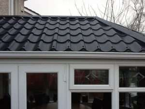 Single Skin Roof Tile Effect