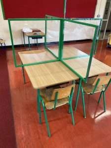 COVID KId's School Desk Screen
